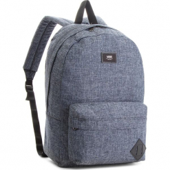 Plecak VANS - Old Skool II Ba VN000ONIPM1  Heather B. Niebieskie plecaki męskie Vans, z materiału, sportowe. W wyprzedaży za 109,00 zł.