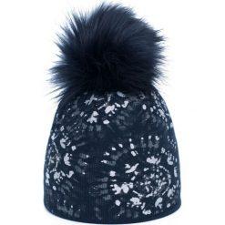 Czapka damska Zimowe słońce granatowa. Czarne czapki zimowe damskie Art of Polo, na zimę. Za 47,34 zł.