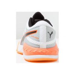 Puma EXPLODE 1 Obuwie do piłki ręcznej white/quarry/shocking orange. Białe buty do koszykówki męskie Puma, z gumy. Za 509,00 zł.