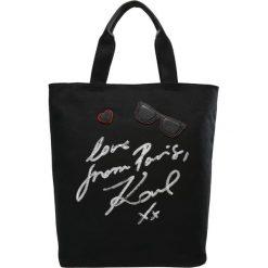 Torebki klasyczne damskie: KARL LAGERFELD PARIS Torba na zakupy black