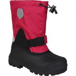 """Kozaki zimowe """"Sianna"""" w kolorze różowym. Czarne kozaki dziewczęce marki Color Kids. W wyprzedaży za 109,95 zł."""