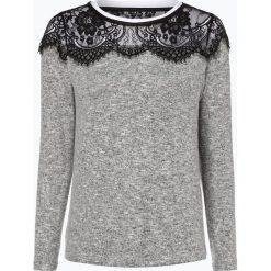 ONLY - Sweter damski – Idaho, szary. Szare swetry klasyczne damskie marki ONLY, s, z koronki. Za 119,95 zł.
