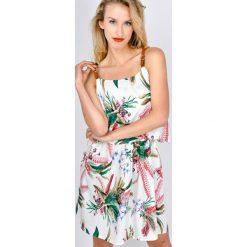 Odzież damska: Sukienka tropical na ramiączkach