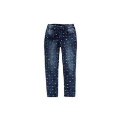 Legginsy dziewczęce jegginsy. Niebieskie legginsy dziewczęce marki KIPSTA, z elastanu. Za 29,99 zł.
