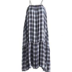 Długie sukienki: Glamorous Curve CHECK Długa sukienka navy
