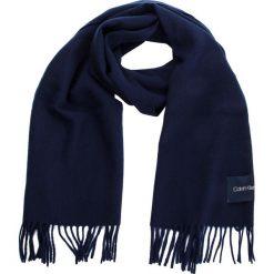 Szal CALVIN KLEIN - Classic Wool Scarf W K60K604720 448. Niebieskie szaliki damskie Calvin Klein, z materiału. Za 279,00 zł.