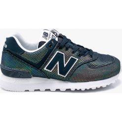 New Balance - Buty WL574UBC. Szare buty sportowe damskie New Balance, z gumy. W wyprzedaży za 299,90 zł.