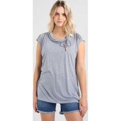 T-shirty damskie: Ragwear Plus LORNA PLUS Tshirt z nadrukiem blue