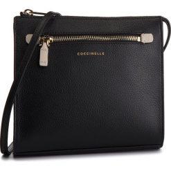 Listonoszki damskie: Torebka COCCINELLE - CV3 Mini Bag E5 CV3 55 E3 07 Noir/Seashell 515