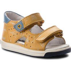 Sandały NATURINO - Falcotto By Naturino 0011500685.03.9122 Mais St. Latte. Żółte sandały męskie skórzane Naturino. W wyprzedaży za 259,00 zł.