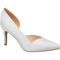 Szpilki: szpilki damskie 5th Avenue białe