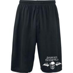 Spodenki i szorty męskie: Avenged Sevenfold Logo Krótkie spodenki czarny