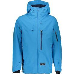 Kurtka narciarska w kolorze błękitnym. Niebieskie kurtki męskie puchowe marki Billabong, m, z materiału. W wyprzedaży za 556,95 zł.