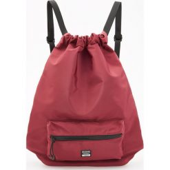 Plecaki męskie: Plecak worek – Bordowy