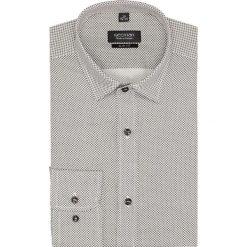 Koszula versone 2607 długi rękaw slim fit brąz. Szare koszule męskie slim marki House, l, z bawełny. Za 169,00 zł.