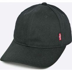 Levi's - Czapka. Brązowe czapki z daszkiem męskie Levi's®, z bawełny. Za 119,90 zł.