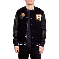 Kurtka w kolorze czarnym. Czarne kurtki męskie Adidas, Reebok, m, prążkowane. W wyprzedaży za 324,95 zł.