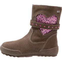 Lurchi LINNITEX Kozaki bungee. Czarne buty zimowe damskie marki Lurchi, z materiału. W wyprzedaży za 174,85 zł.