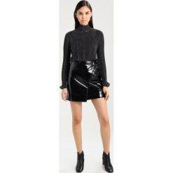 Minispódniczki: Karen Millen PATENT COLLECTION Spódnica trapezowa black