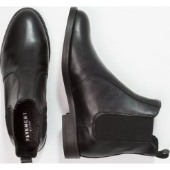 Botki damskie lity: Pavement MARIA Botki black