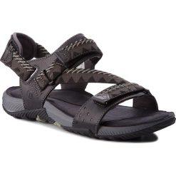 Sandały MERRELL - Terrant Convert J93915 Black. Czarne sandały męskie skórzane marki Merrell. W wyprzedaży za 219,00 zł.