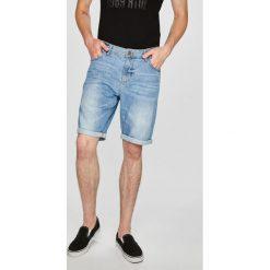 Tom Tailor Denim - Szorty. Szare spodenki jeansowe męskie marki TOM TAILOR DENIM, casualowe. W wyprzedaży za 99,90 zł.