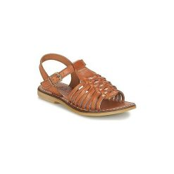 Sandały Dziecko  Adolie  LAZAR MULTI. Brązowe sandały dziewczęce marki Adolie. Za 239,20 zł.