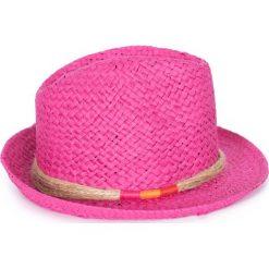 Kapelusz damski Natural vintage różowy. Czerwone kapelusze damskie marki Art of Polo. Za 37,60 zł.