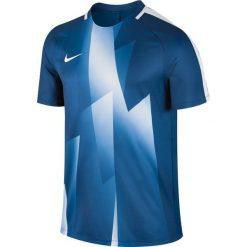 Nike Koszulka męska M NK Dry SQD Top SS GX granatowa r. S (850529 429). Białe t-shirty męskie marki Adidas, l, z jersey, do piłki nożnej. Za 92,13 zł.