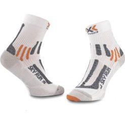 Skarpety Wysokie Unisex X-SOCKS - Running Sky Run 2.0 X020433 W000. Białe skarpetki męskie X SOCKS, z elastanu. Za 100,00 zł.