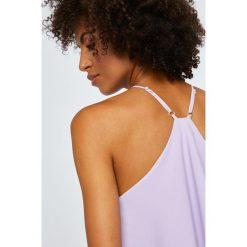 Answear - Top Violet Kiss. Różowe topy damskie ANSWEAR, l, z tkaniny, z dekoltem halter. W wyprzedaży za 69,90 zł.