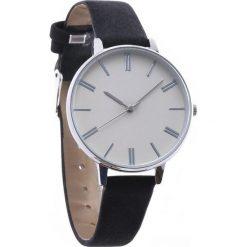 Czarno-Biały Zegarek Plain. Białe zegarki damskie Born2be. Za 24,99 zł.