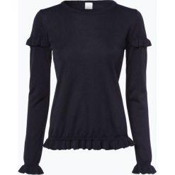 Swetry klasyczne damskie: BOSS Casual – Sweter damski – Waromy, niebieski