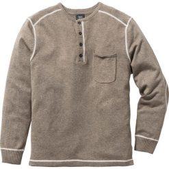 Swetry męskie: Sweter Regular Fit bonprix piaskowy melanż