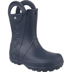 Buty dziecięce Handle Rain Boot granatowe r. 33-34 (12803). Szare buciki niemowlęce Crocs. Za 108,26 zł.