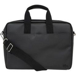 Lacoste COMPUTER BAG Aktówka black. Czarne aktówki męskie Lacoste. W wyprzedaży za 377,40 zł.