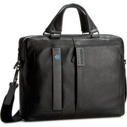 Torba na laptopa PIQUADRO - CA1903P15/N Czarny. Czarne plecaki męskie marki Piquadro, ze skóry. W wyprzedaży za 1039,00 zł.