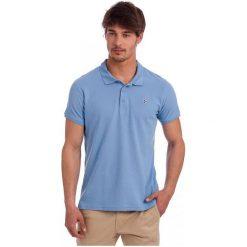 Polo Club C.H..A Koszulka Polo Męska M Niebieska. Niebieskie koszulki polo Polo Club C.H..A, m. W wyprzedaży za 149,00 zł.