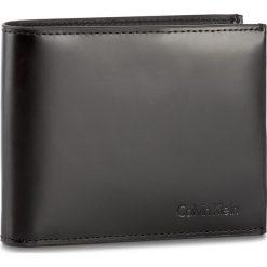 Portfele męskie: Duży Portfel Męski CALVIN KLEIN BLACK LABEL – Spazzolatto Leather K50K503492 001