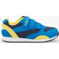 Buty skate męskie: Sportowe buty zapinane na rzepy - Niebieski