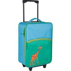 """Walizki: Walizka """"4Kids Giraffe"""" w kolorze błękitno-zielonym – 29,5 x 46 x 19,5 cm"""