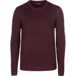 Swetry klasyczne męskie: Sweter w kolorze burgundowym