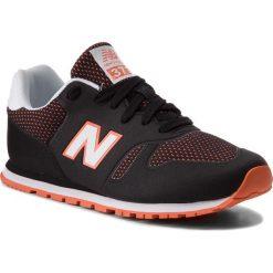 Trampki chłopięce: Sneakersy NEW BALANCE – KD373BOY Czarny