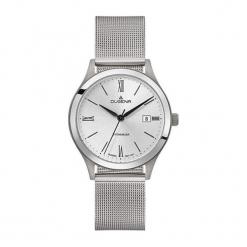 """Zegarek """"4460764"""" w kolorze srebrnym. Szare, analogowe zegarki męskie Dugena & Nautec No Limit, metalowe. W wyprzedaży za 329,95 zł."""