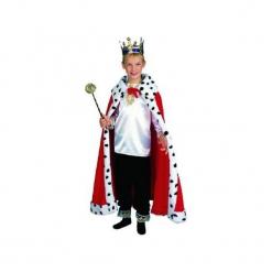 Przebranie - król z koszulą i spodniami. Szare koszule chłopięce marki ASTER. Za 64,54 zł.