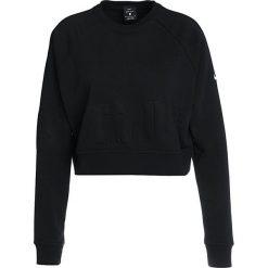 Nike Performance VERSA Bluza black/white. Czarne topy sportowe damskie Nike Performance, xl, z bawełny. W wyprzedaży za 156,75 zł.