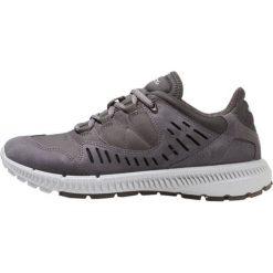 Ecco TERRAWALK Obuwie hikingowe grey. Szare buty sportowe damskie marki ecco, z materiału, outdoorowe. W wyprzedaży za 479,20 zł.