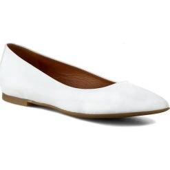 Baleriny damskie lakierowane: Baleriny GINO ROSSI - Ella DAG278-H75-G900-1100-0 Biały 00