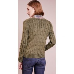 Swetry damskie: Polo Ralph Lauren KIMBERLY Sweter olive