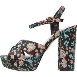 Sandały damskie: Miss Selfridge CROWN Sandały na obcasie blue